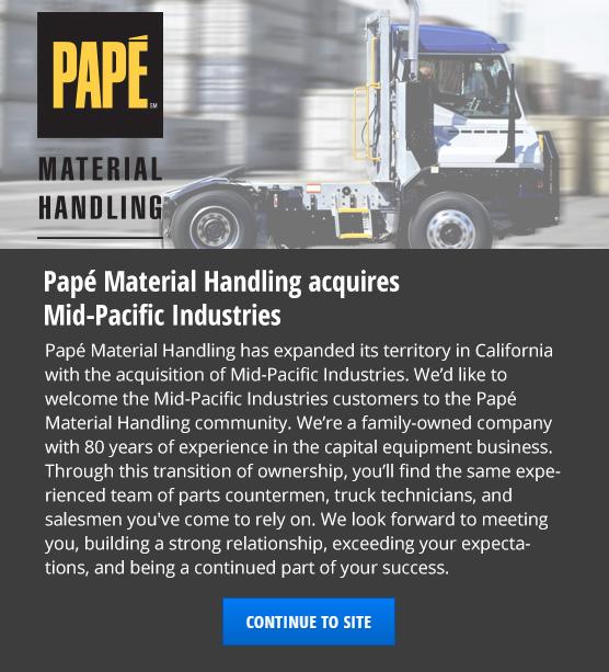 Papé Material Handling | Hyster & Yale Dealer